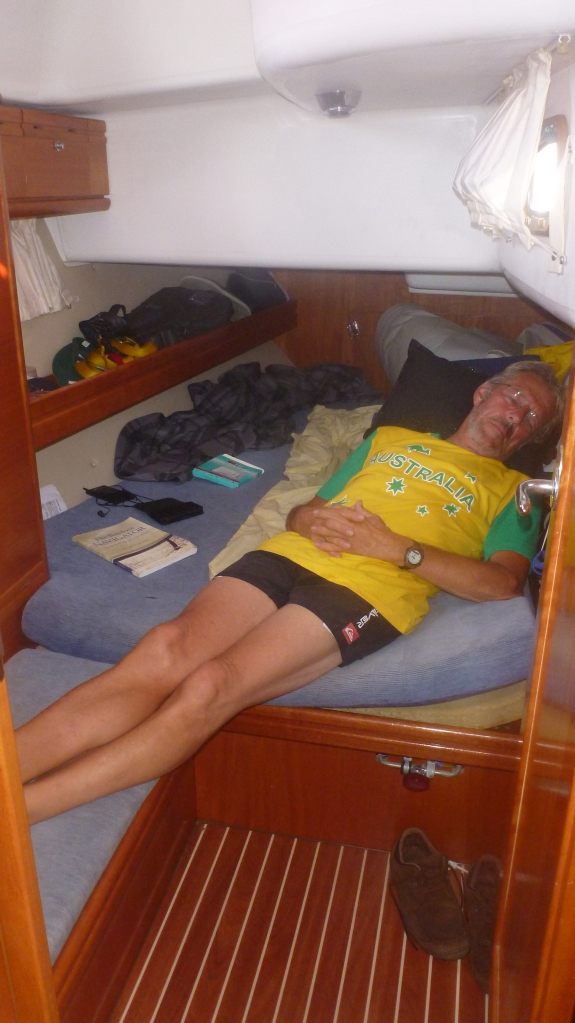 Lord Roriston relaxing in his favourite Australian colours